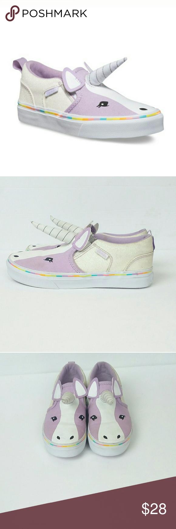 5413b398d8 VANS Kids Asher Unicorn Shoes Sz 3 Great Condition!!! VANS Kids Asher  Unicorn