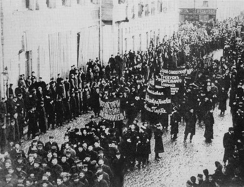 Russian revolution, 1905
