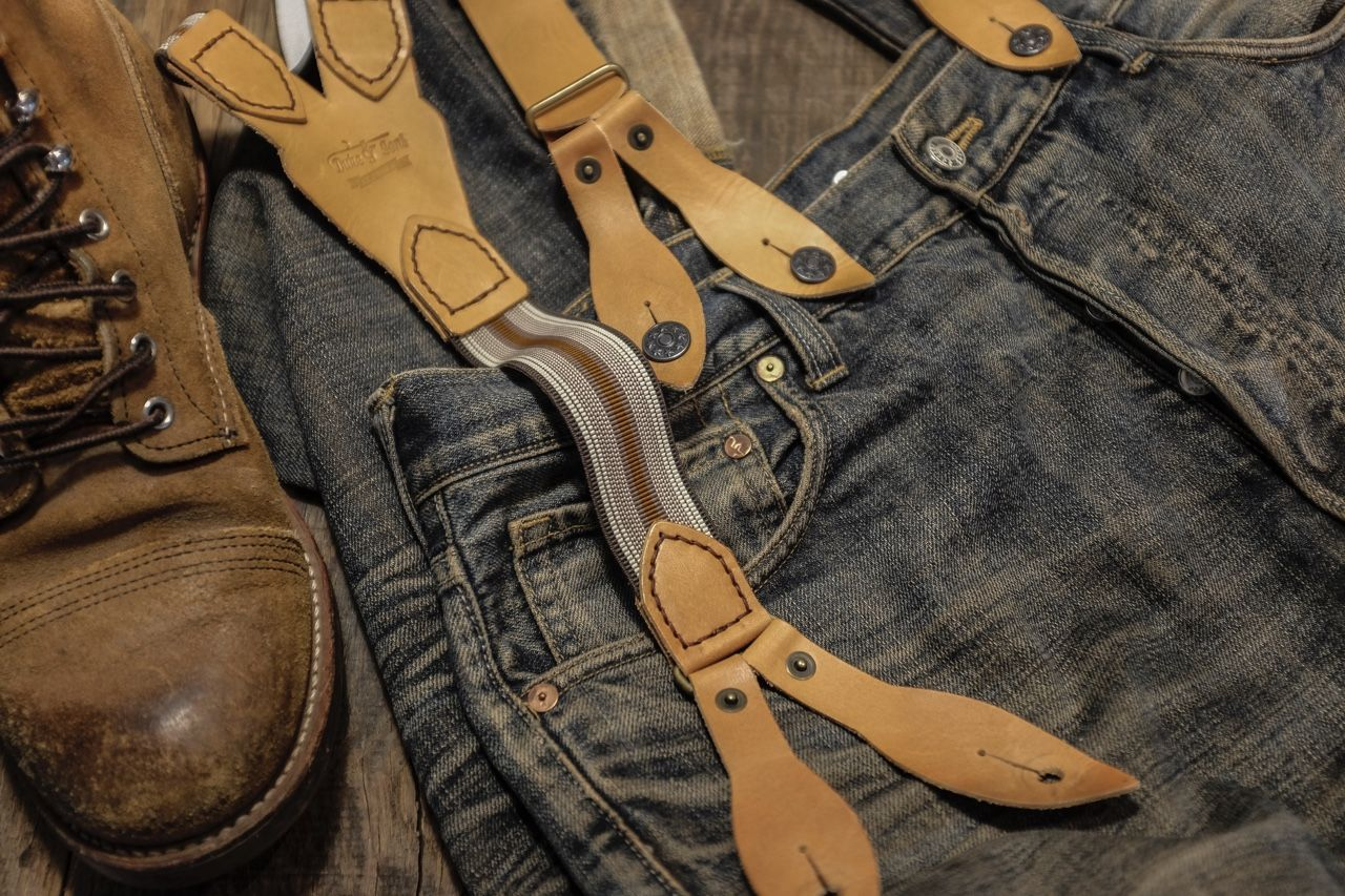 """dukeandsons: """" the new Duke & Sons Leather Heritage Collection braces. """""""