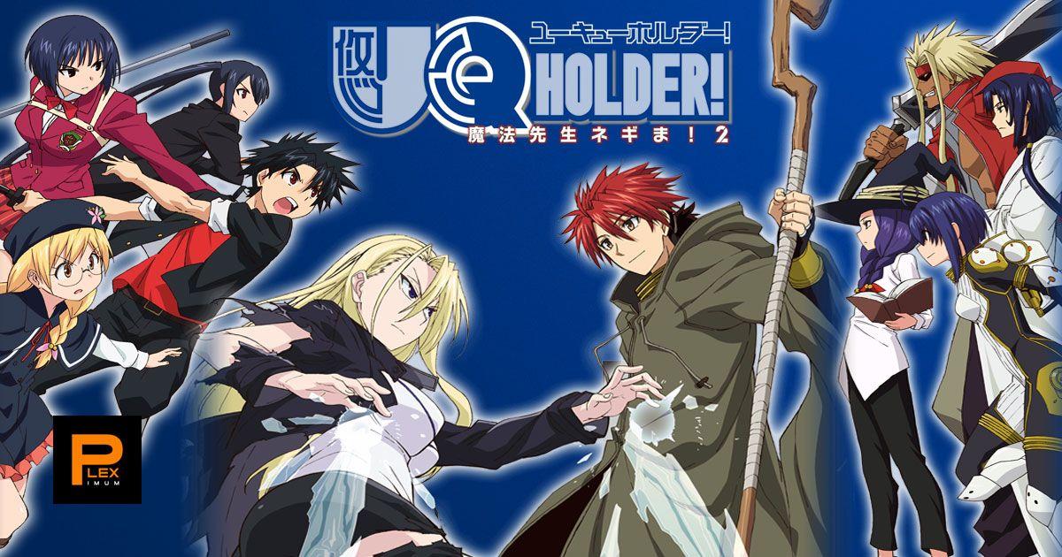 Uq Holder Mahou Sensei Negima 2 Anime Web Hevc X265 Complete