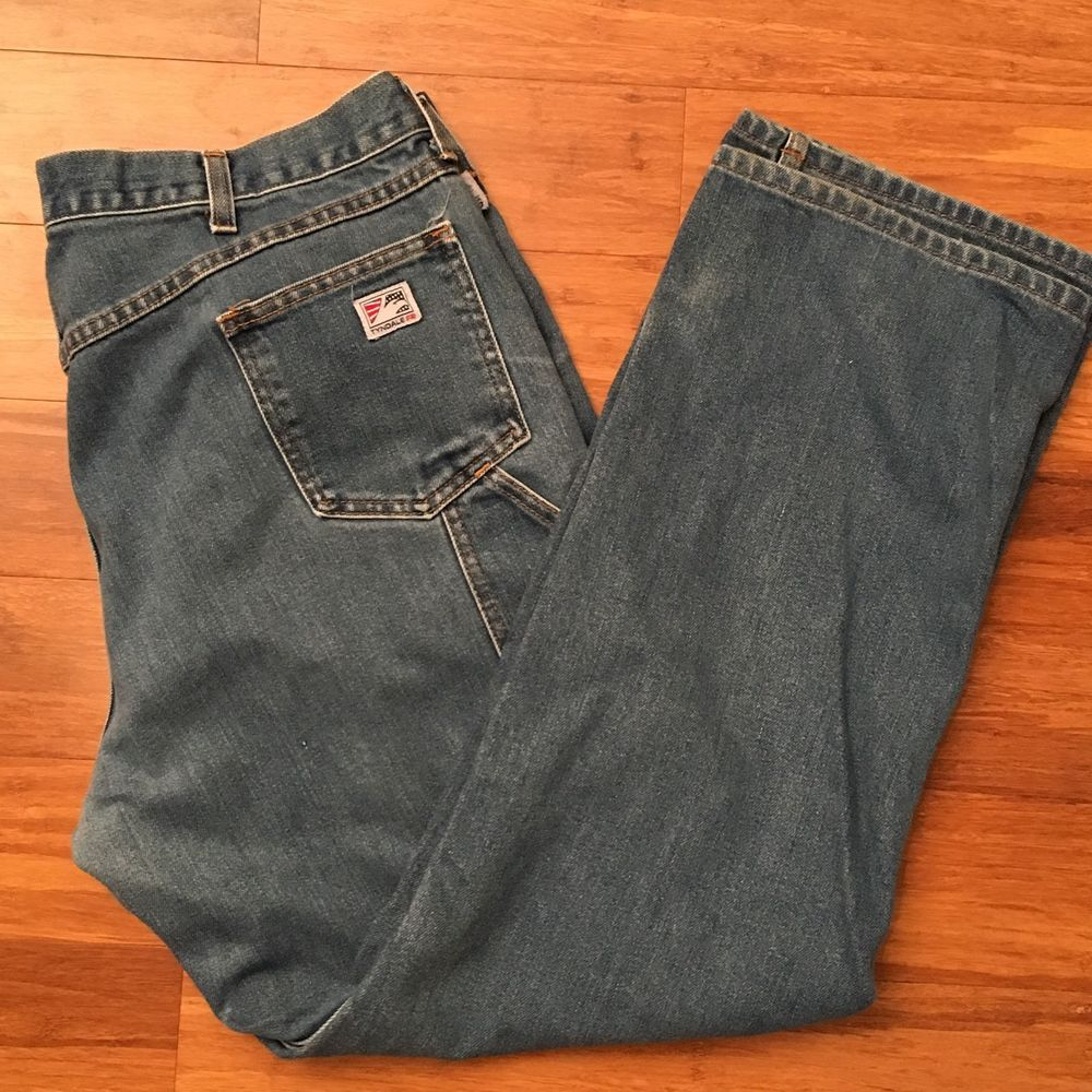 Mens Tyndale FR Flame Resistant Pants Carpenter Jeans 39 x