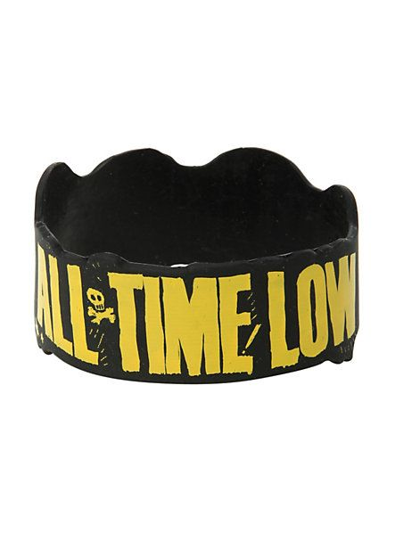 All Time Low Faces Rubber Bracelet | Hot Topic