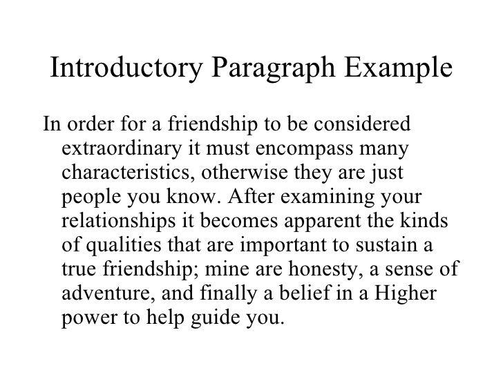 importance of friendship essay