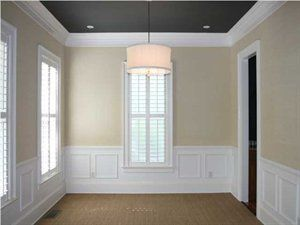 Light Walls And Dark Ceiling Dark Ceiling Colored Ceiling