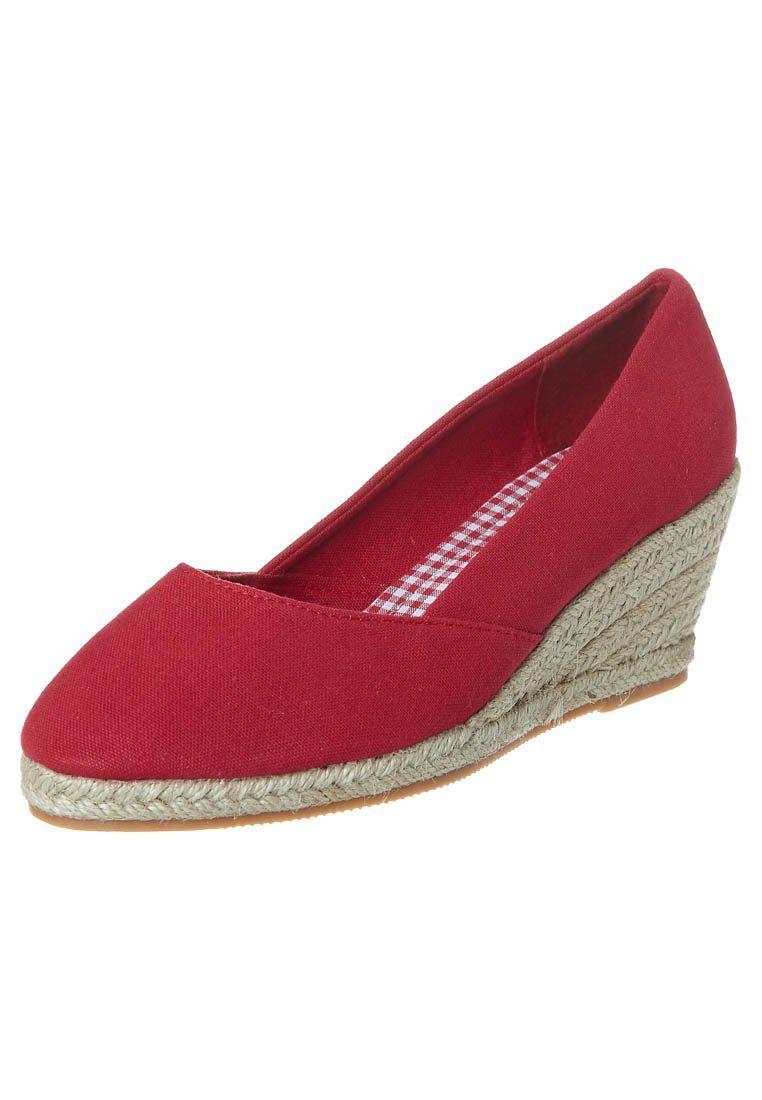 3b5c968d4df Duffy Wedges - red | My Style | Wedges, Wedge heels, Espadrilles