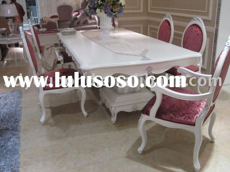 Nice White Dining Room Furniture Italy Design | Furniture ...