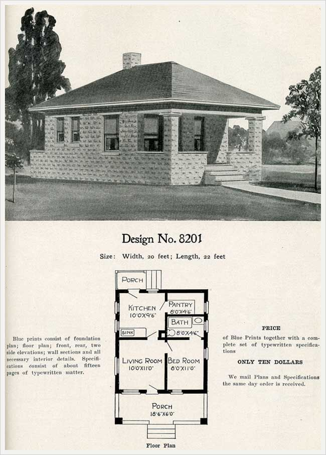 1909 Radford S Cement Houses No 8201 Cement House House Plans With Pictures House Plans