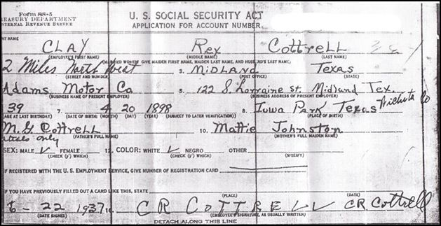 Ordering applications from the SSA Reader Janet Buchanan is - social security name change form
