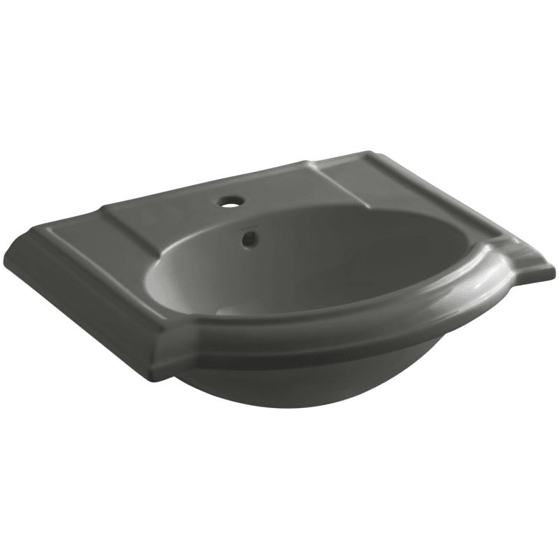 Kohler K 2287 1 Devonshire 24 Pedestal Bathroom Sink With 1 Hole