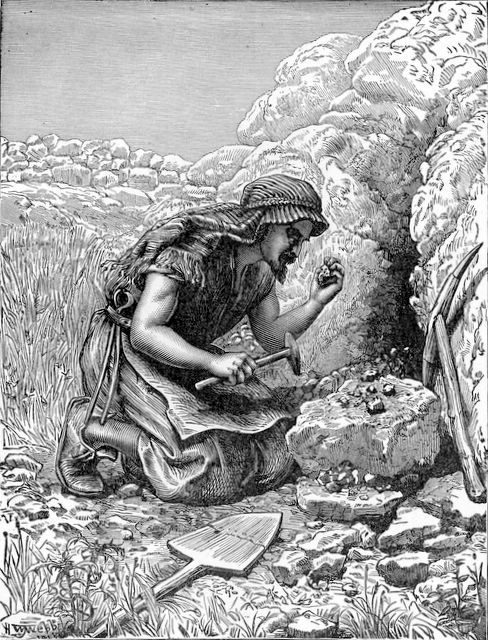 The Parable of the Hidden Treasure. BIBLE SCRIPTURE: Matthew 13:44 ...