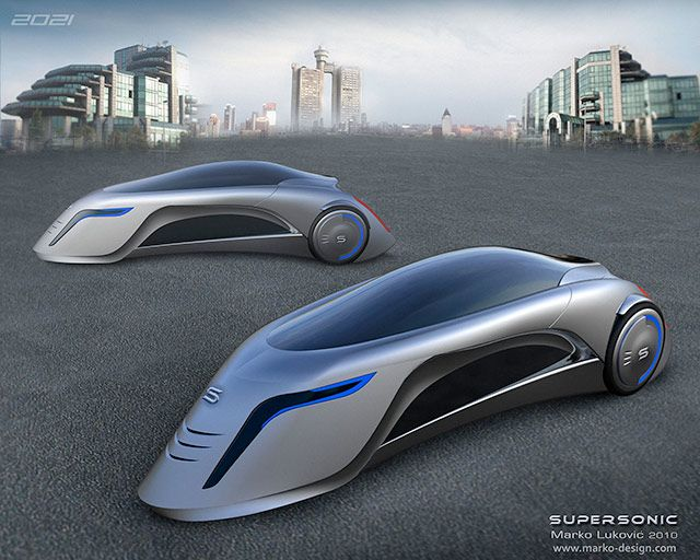 Car Of The Future Looks Like A Supersonic Road Rocket Pics Futuristic Cars Future Car Concept Car Design