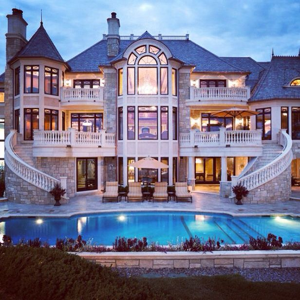 Dream House Exterior, House, Mansions