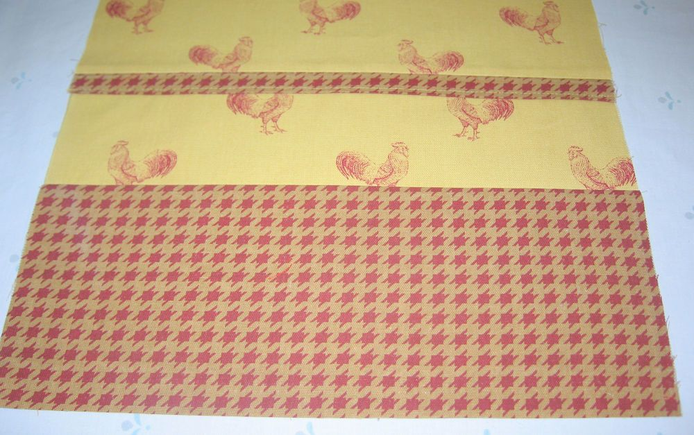 WAVERLY TABLE RUNNER PECKING ORDER &  WAVERLY CHECK   LAST ONE REDUCED