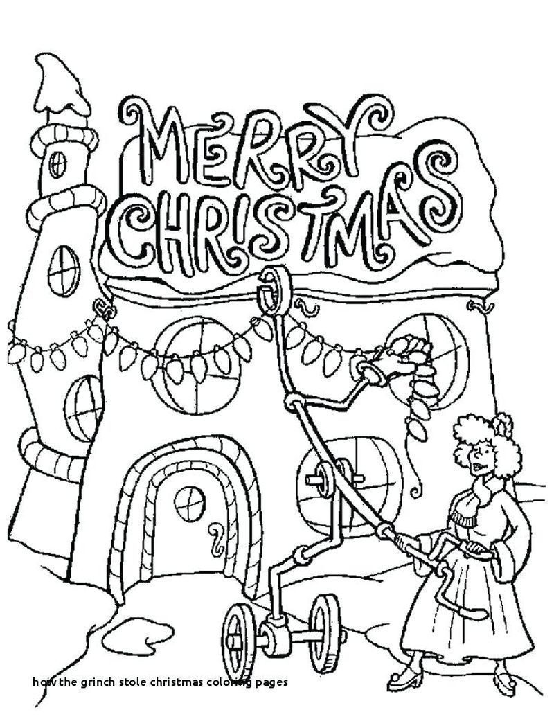 Printable Grinch Coloring Pages Ideas Christmas Tree Coloring Page Merry Christmas Coloring Pages Printable Christmas Coloring Pages