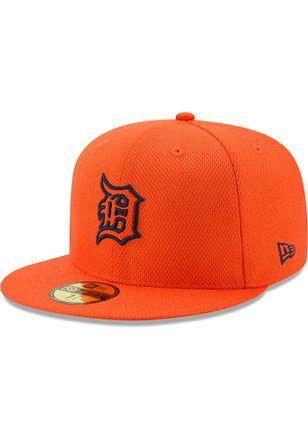 huge discount e0760 6b4ec Detroit Tigers New Era Mens Orange 2017 Diamond Era 59FIFTY Fitted Hat