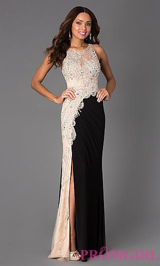 Floor Length Beaded JVN92582 by Jovani Prom Dress at PromGirl.com ...