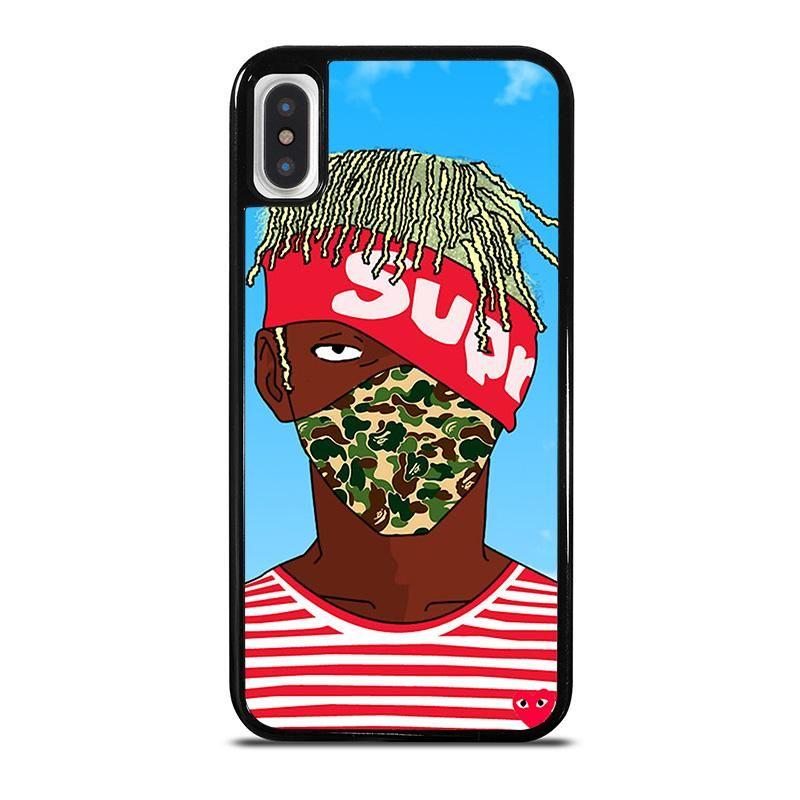 supreme lil uzi vert bathing ape kakashi iphone x xs case cover insupreme lil uzi vert bathing ape kakashi iphone x case best custom phone cover cool personalized design \u2013 favocase