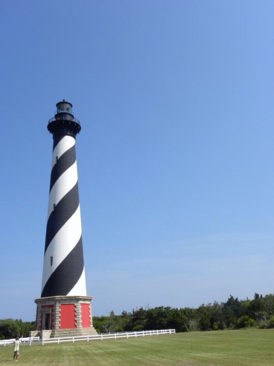We highly recommend visiting OBX and visiting the Cape Hatteras Lighthouse! #KMGLIFE