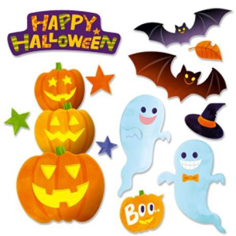 image relating to Free Printable Halloween Crafts named Totally free printable halloween decorations Practices inside of 2019