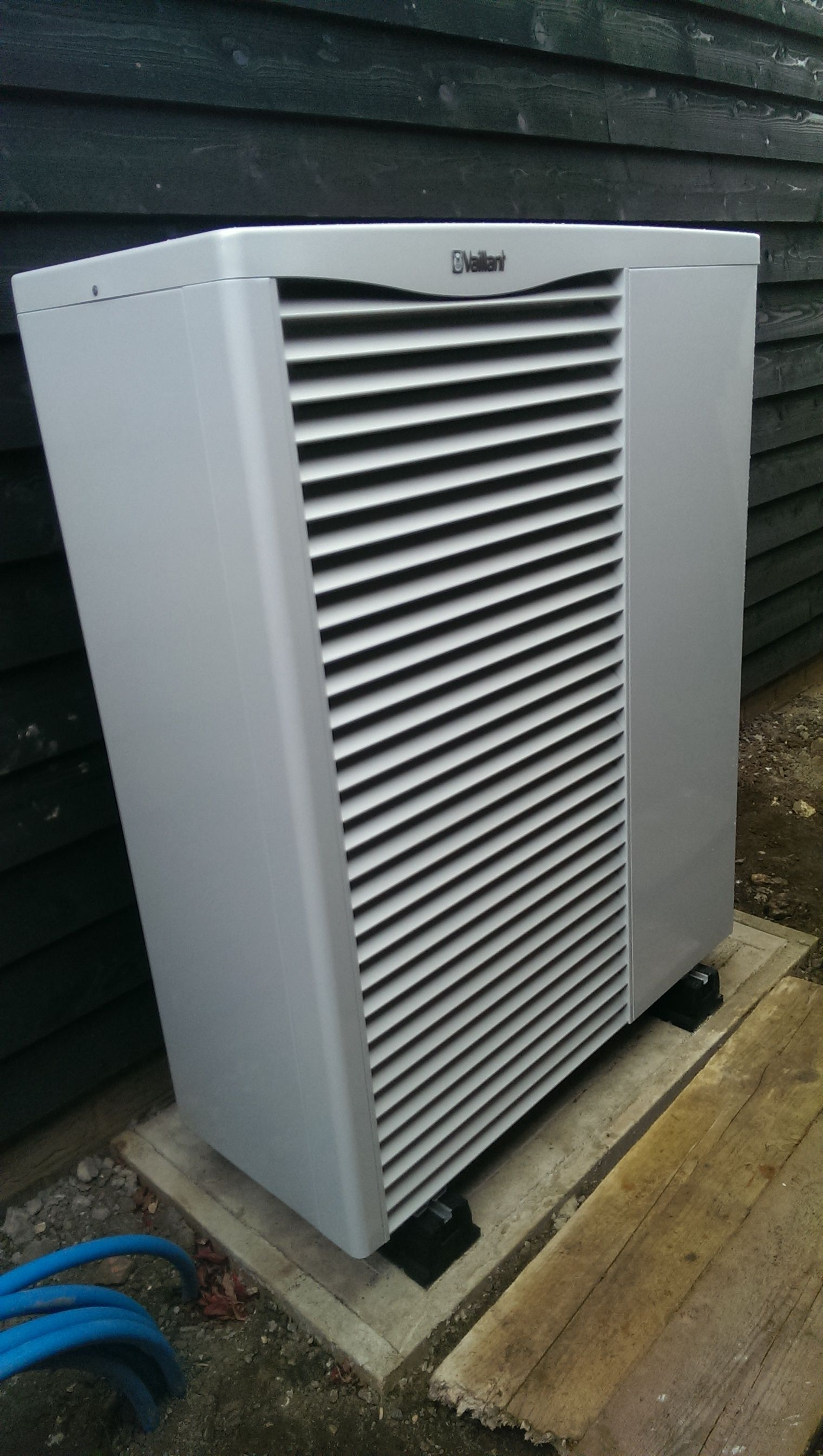 Vaillant Air Source Heat Pump installed in Haddneham, Ely