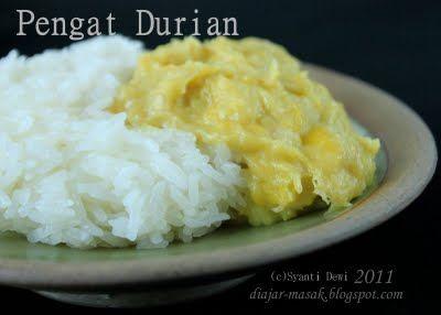 Pengat Durian Ketan Kinca Durian Resep Masakan Resep Makanan Memasak