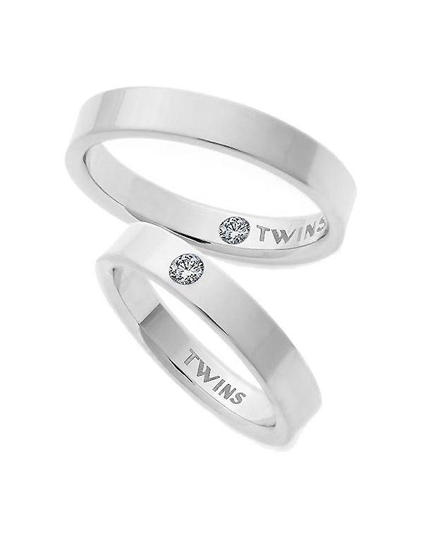 952c4024c82e9 Pareja de Alianzas Oro Blanco Twins Evolution 4mm - Mujer - Joyería - El  Corte Inglés - Moda