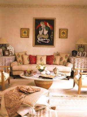 Inspired By India Indian Home Interior Drawing Room Decor
