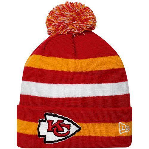 68e1d500235 New Era Kansas City Chiefs Sport Cuffed Knit Hat - Red Gold White ...