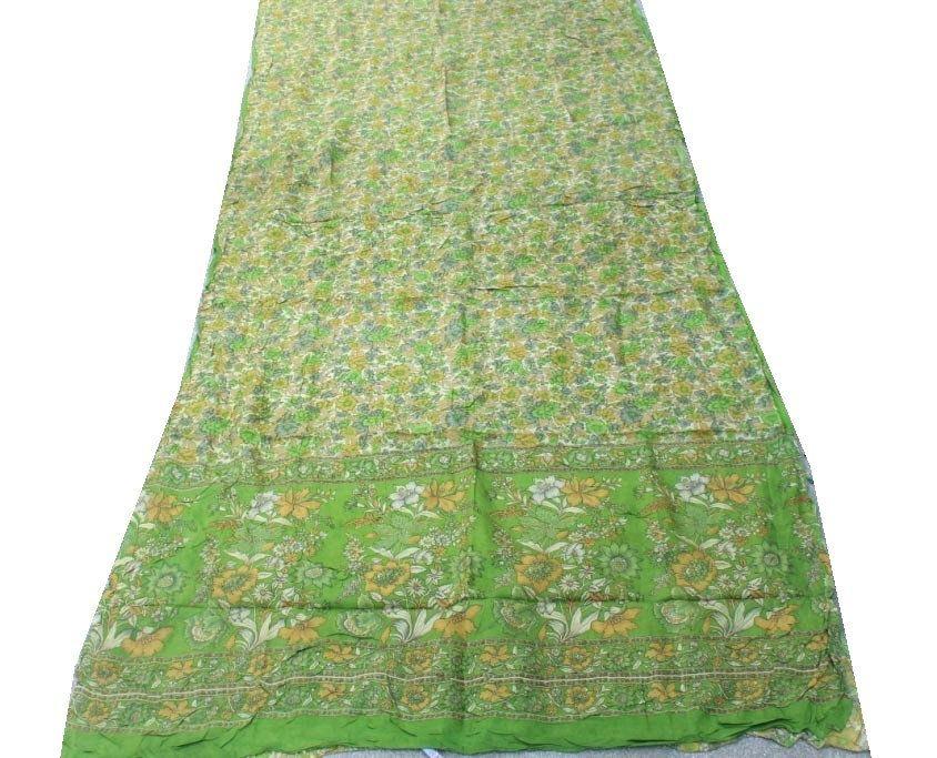 Photo of 100% Pure Silk Saree, 5 Yard Women's Decorative Traditional Pure Silk Sari, Wedding party sari, Indian vintage saree #PSTIC 259