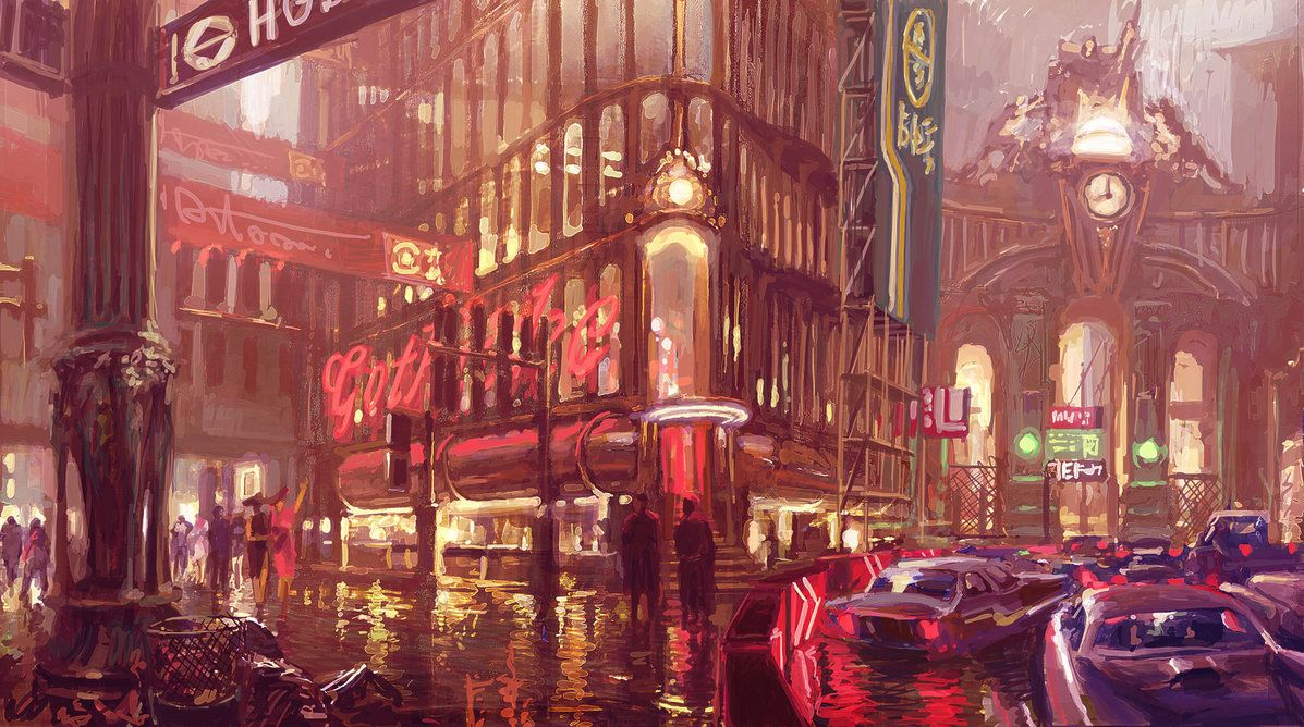 Painting The Town Red By Peteamachree On Deviantart Gorod