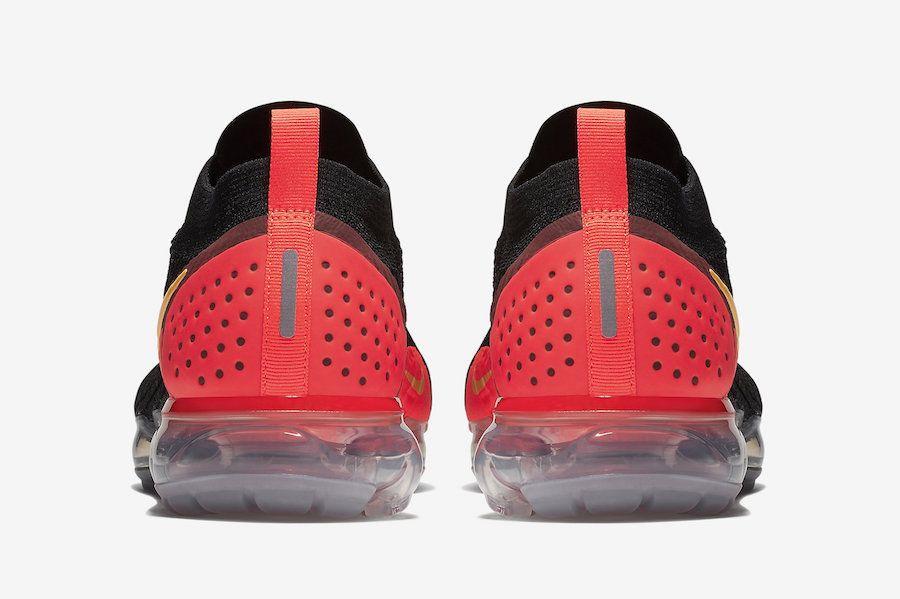 ecd1809f487d5 Nike Air VaporMax 2 Flyknit Laser Orange 942842-005