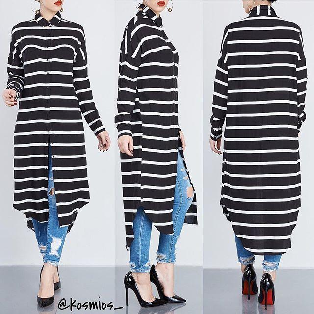 NEWLY ADDED 😍 🖥 www.SHOPKOSMIOS.com Search: Show Your Striped Tunic