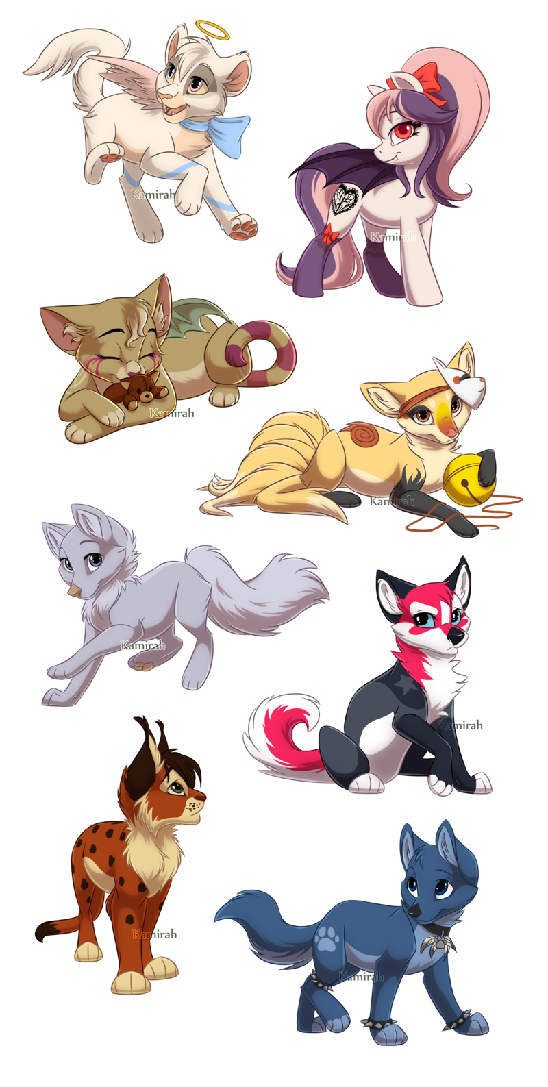 3,4,5 & 8 is mine adopt the rest Plz but if u want 1of