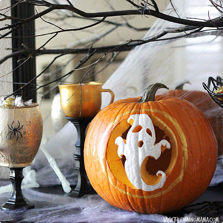 Pumpkin Carving Good Old Fashioned Family Fun for Halloween - halloween pumpkin painting ideas
