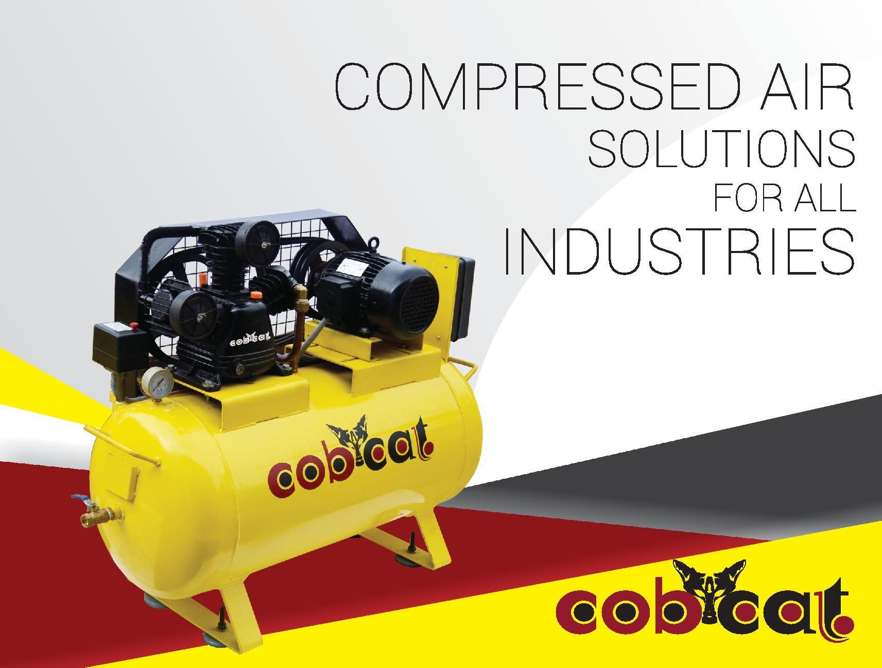 Pin by visagavel k on COBCAT | Air compressor, Vacuum pump, Air receiver