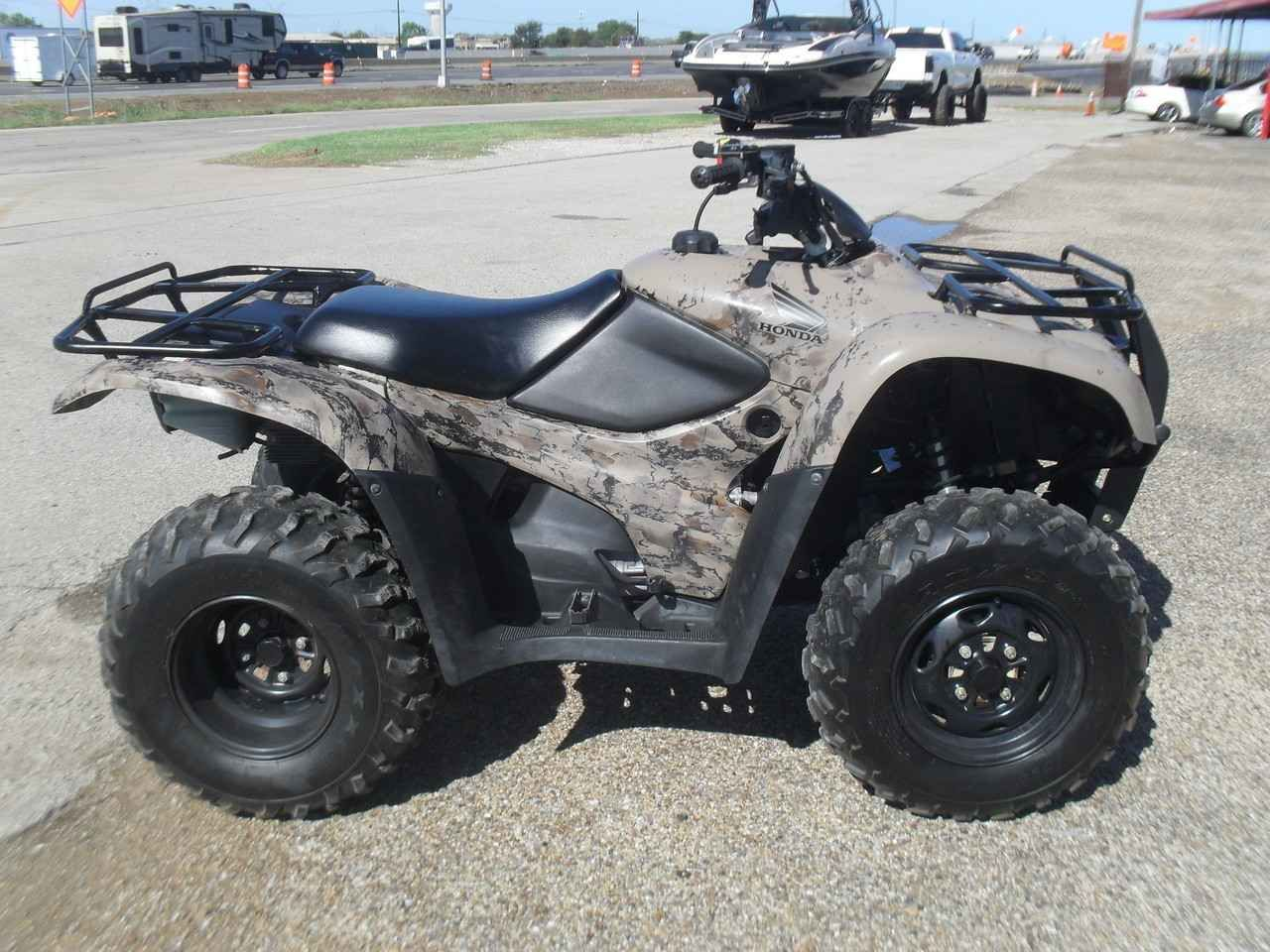 used 2013 honda fourtrax rancher 420 4x4 atvs for sale in texas 2013 honda rancher 420 4x4 atv. Black Bedroom Furniture Sets. Home Design Ideas