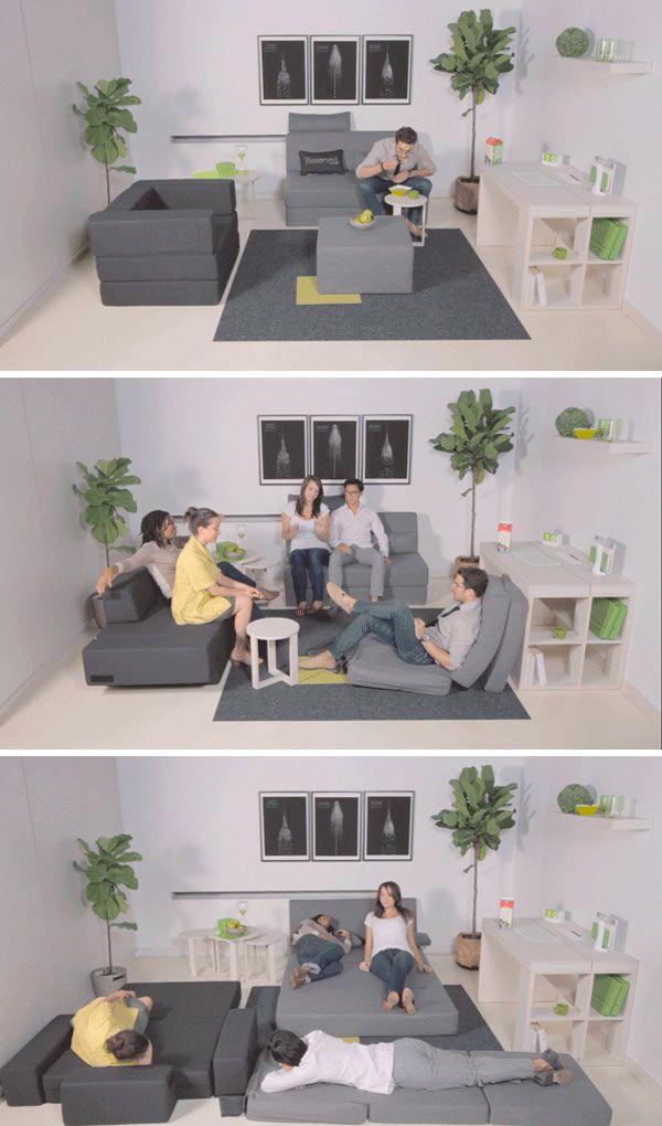 Modern Functional Space Saving Furniture Collection Decoracao De