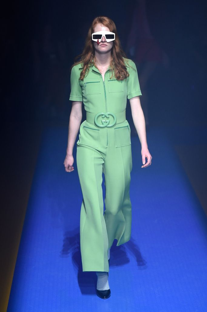 5e9593d390 Spring 2018 RTW} Gucci gives us an Elton John and Stranger Things ...