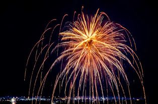 fireworks from Austin Texas, 2014, Roberta Przy Photo