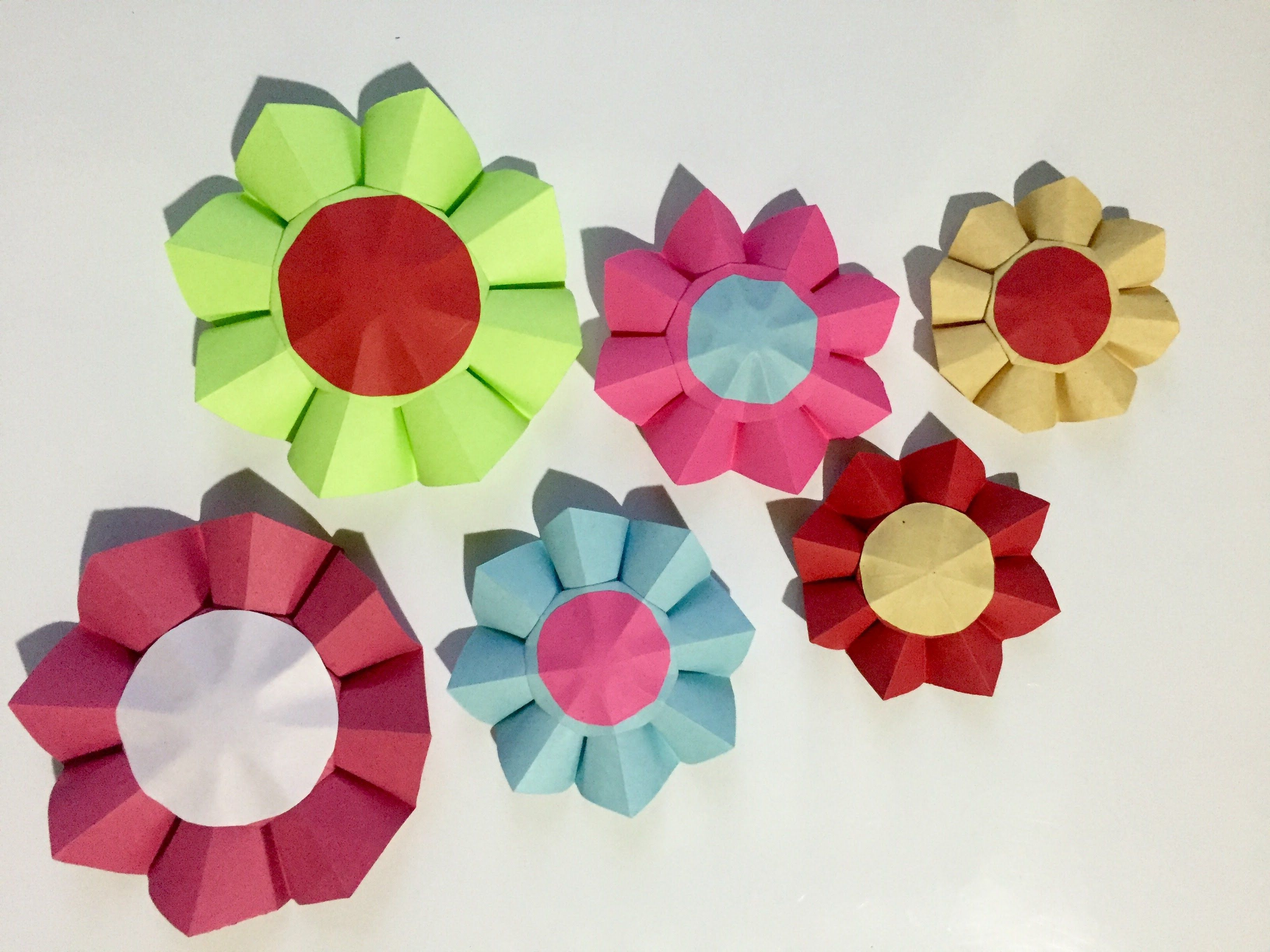 Origani sunflower easy ideas for the room decoration this is origami sunflower and very easy to make jeuxipadfo Gallery