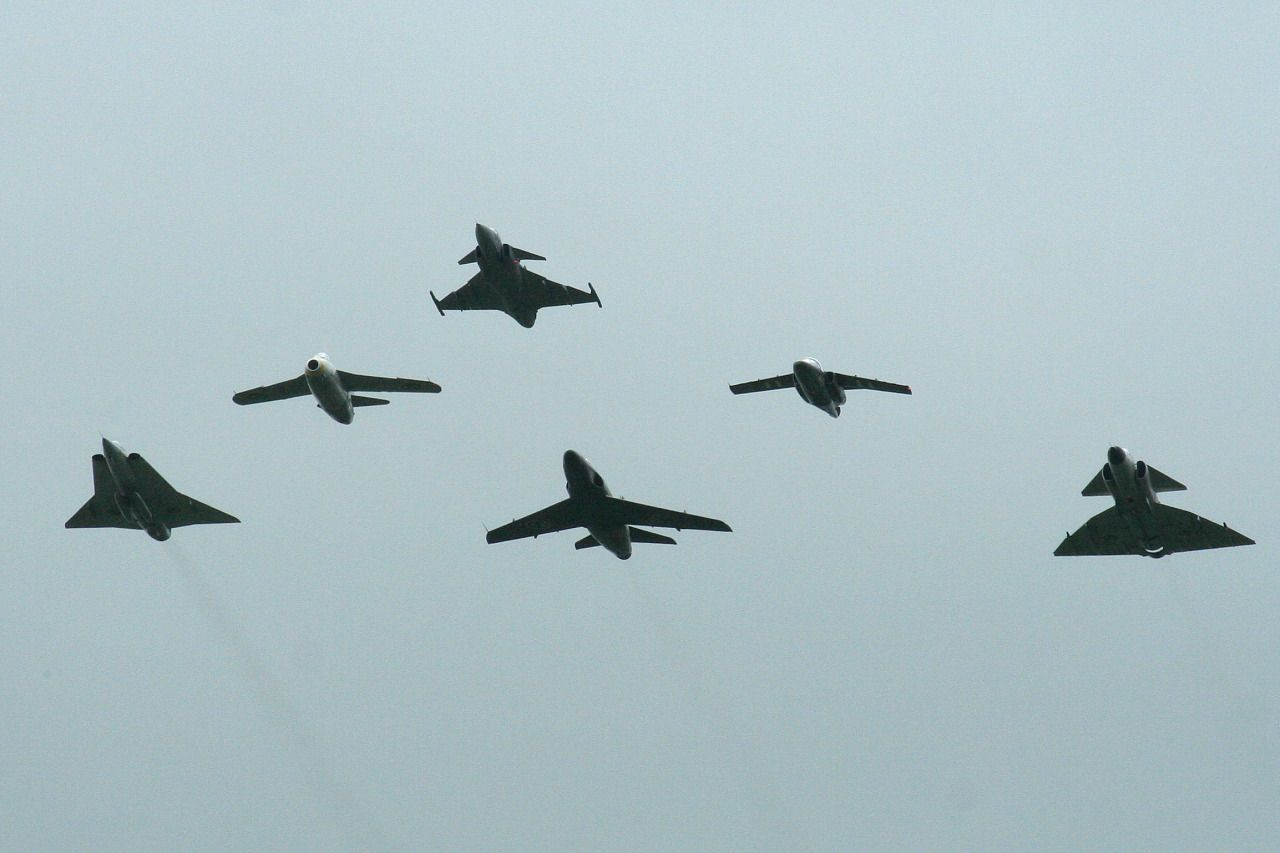 Saab family: Draken, Gripen, Viggen..