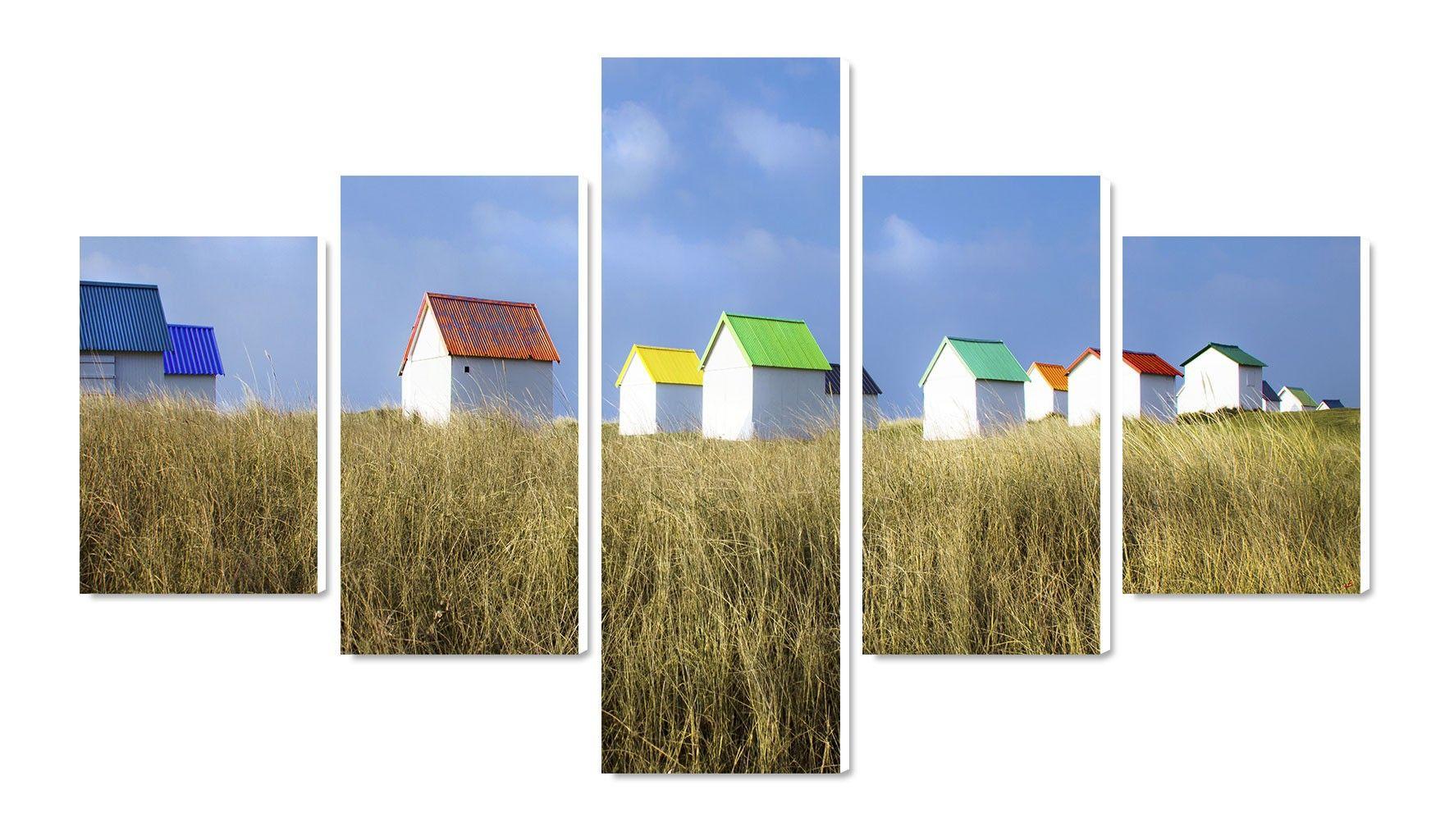 Photo sur toile Cabane de plage dans le Cotentin Philip Plisson ...