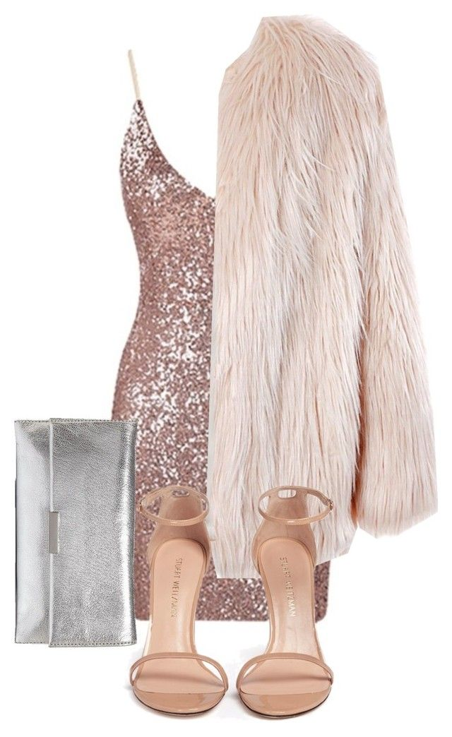 """""""kute"""" by tumblrlife2004 on Polyvore featuring Sans Souci, Stuart Weitzman and Loeffler Randall"""