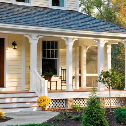 Image Result For Portico Without Columns Fachada De Casas