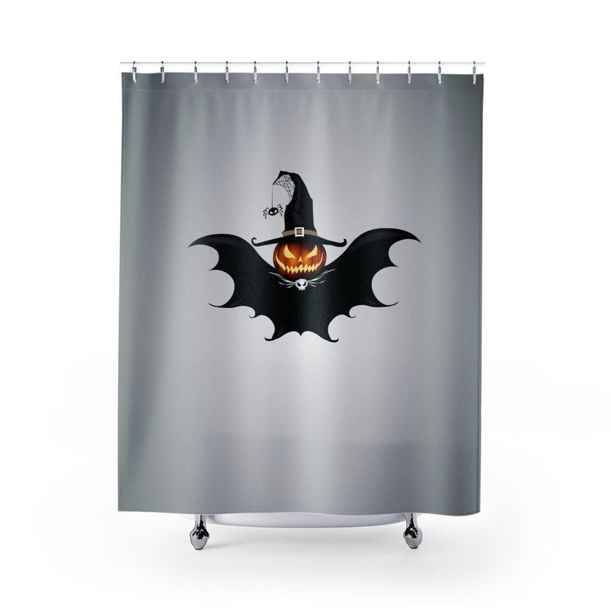 Halloween Bat Shower Curtain Halloween Shower Curtain Halloween