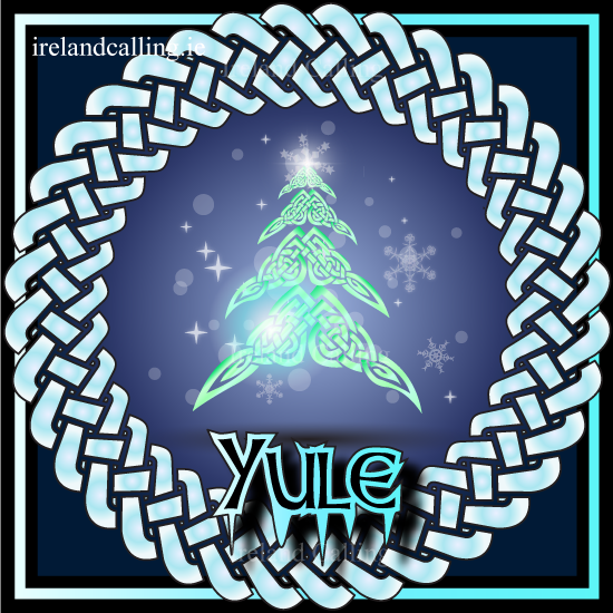 Pagan festival predating christmas