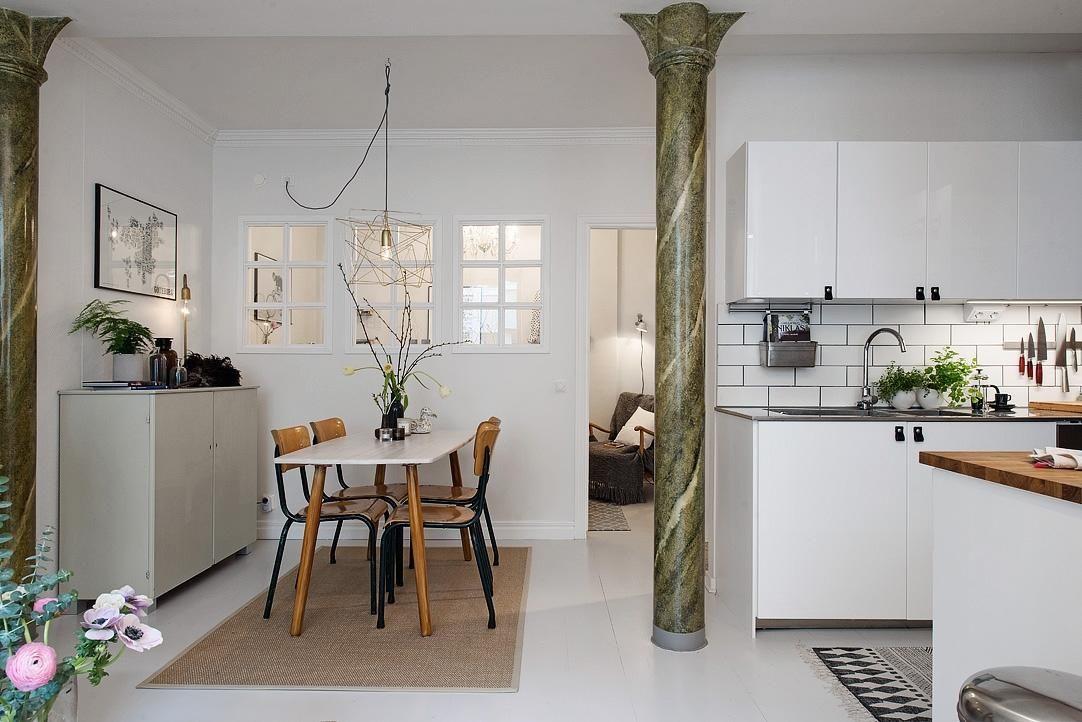 Ideas Para Iluminar Espacios Sin Ventanas Small Space Pinterest - Modern-white-interior-house-in-kharkov-by-vladimir-latkin