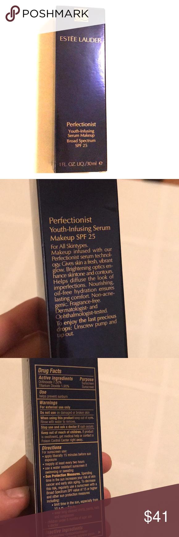 Estée Lauder YouthInfusing Serum Makeup Estée Lauder