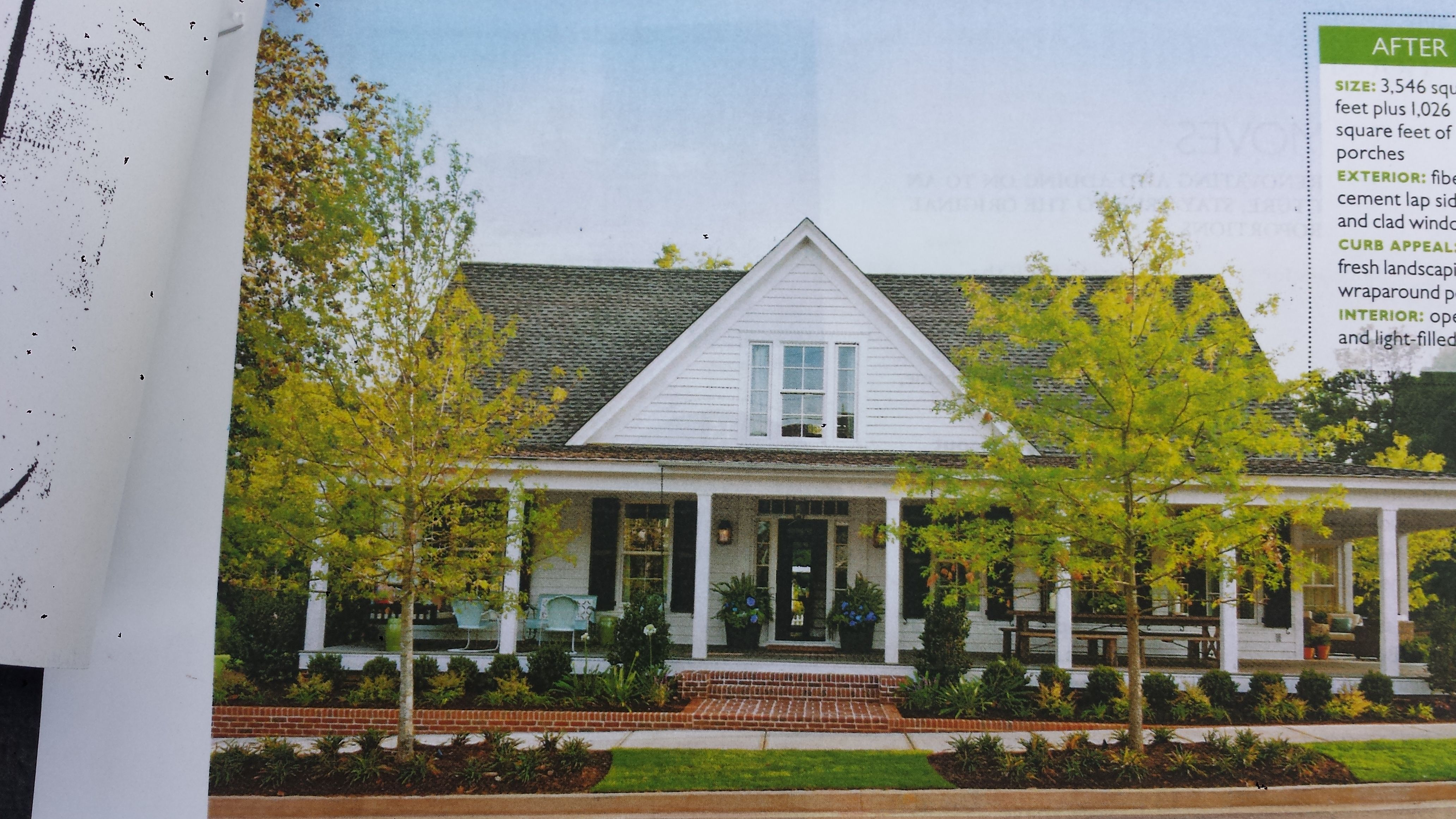 one story farmhouse - One Story Farmhouse Plans