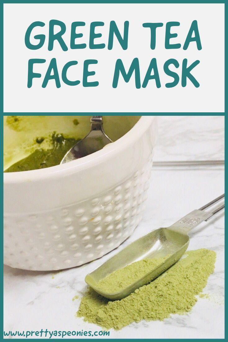Matcha Green Tea Face Mask Pretty As Peonies Green tea